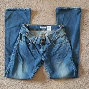 Levi's Slouch Flare 504 size 5